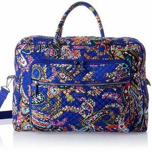 Vera Bradley Weekender Travel Bag Romantic Paisley